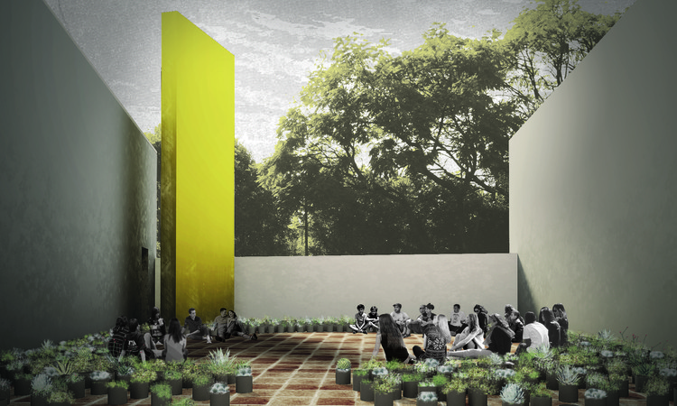 Proyecto de CC Arquitectos para el Pabellón Eco 2014, Cortesía CC Arquitectos