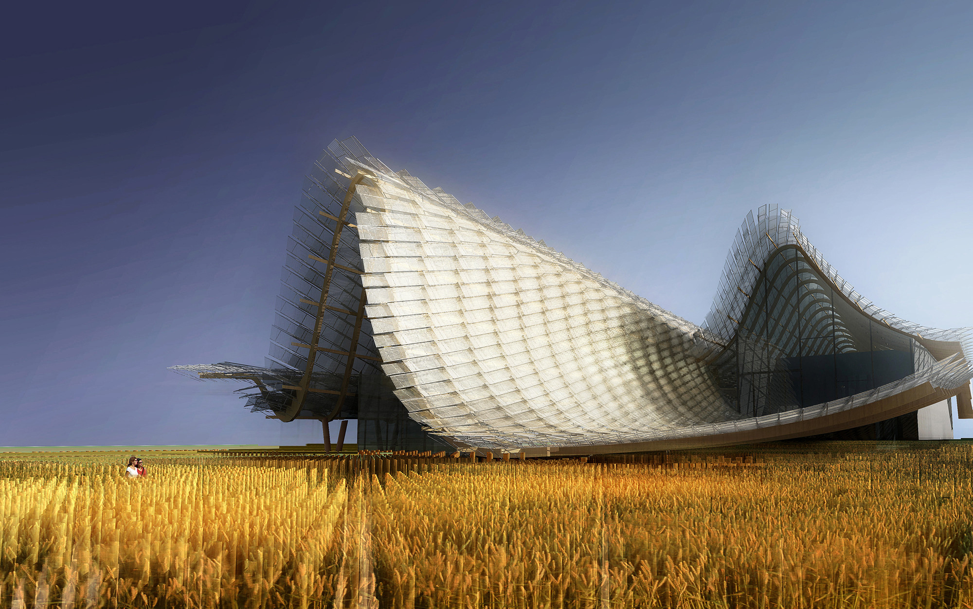 Milan Expo 2015: Tsinghua University with Studio Link-Arc to Design China Pavilion, © Studio Link-Arc