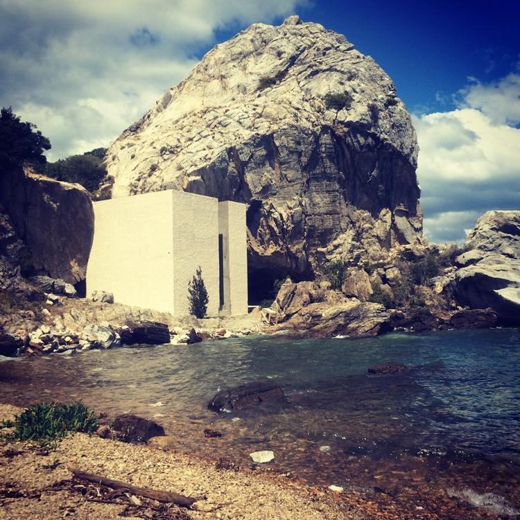 Arte y Arquitectura: NotOna - una casa escultura en la Patagonia chilena por Not Vital & Cristian Orellana, Cortesía de Galería Patricia Ready