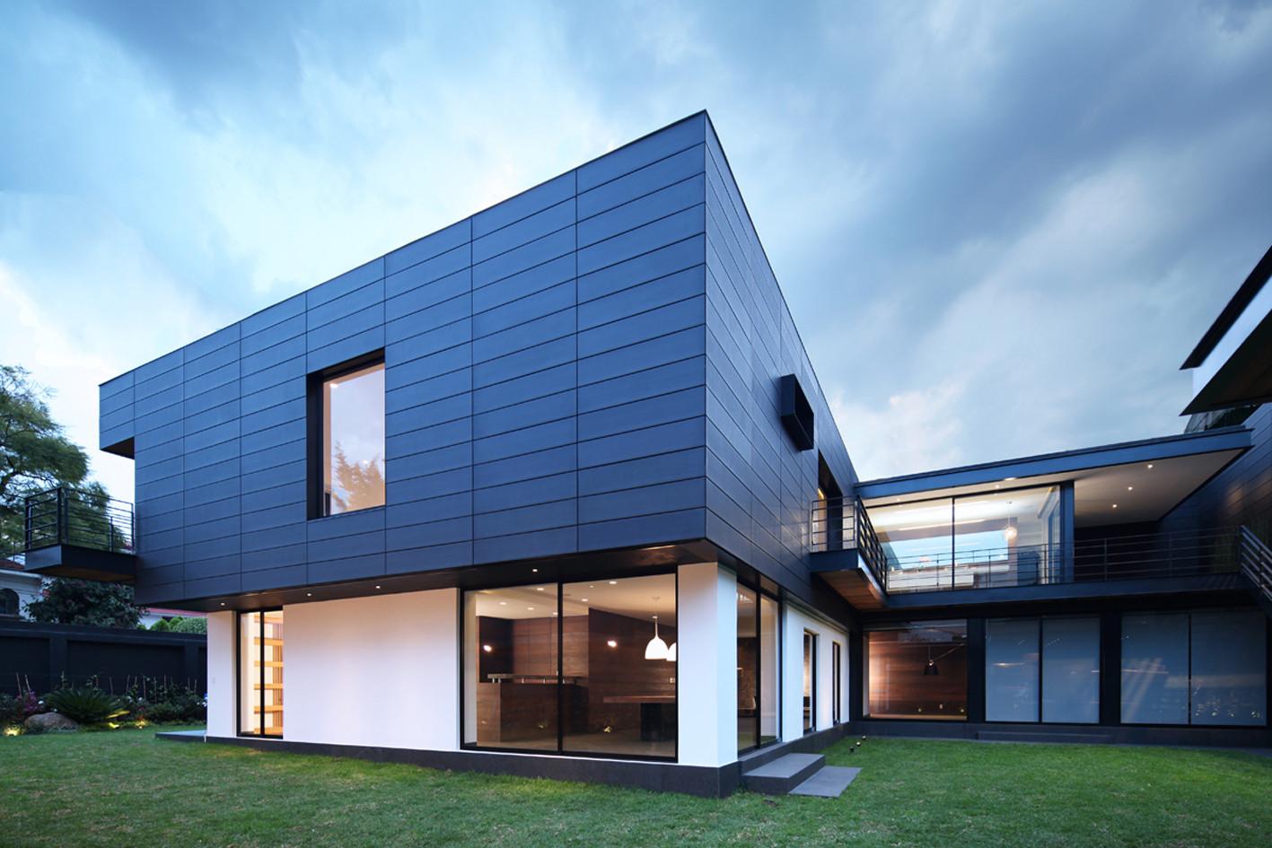 Inspiring Modern House Exterior Materials Ideas - Best Ideas ...
