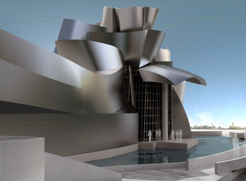 Why The Blueprint of the 21st Century Should Be Open Source, Frank Gehyr's Guggenheim Museum Bilbao. Rendered/Modeled in Rhino by Neguin. Image Courtesy of rhino3d.com