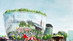 Rotterdam Unveils Mirrored, MVRDV-Designed Art Depot for Museumpark