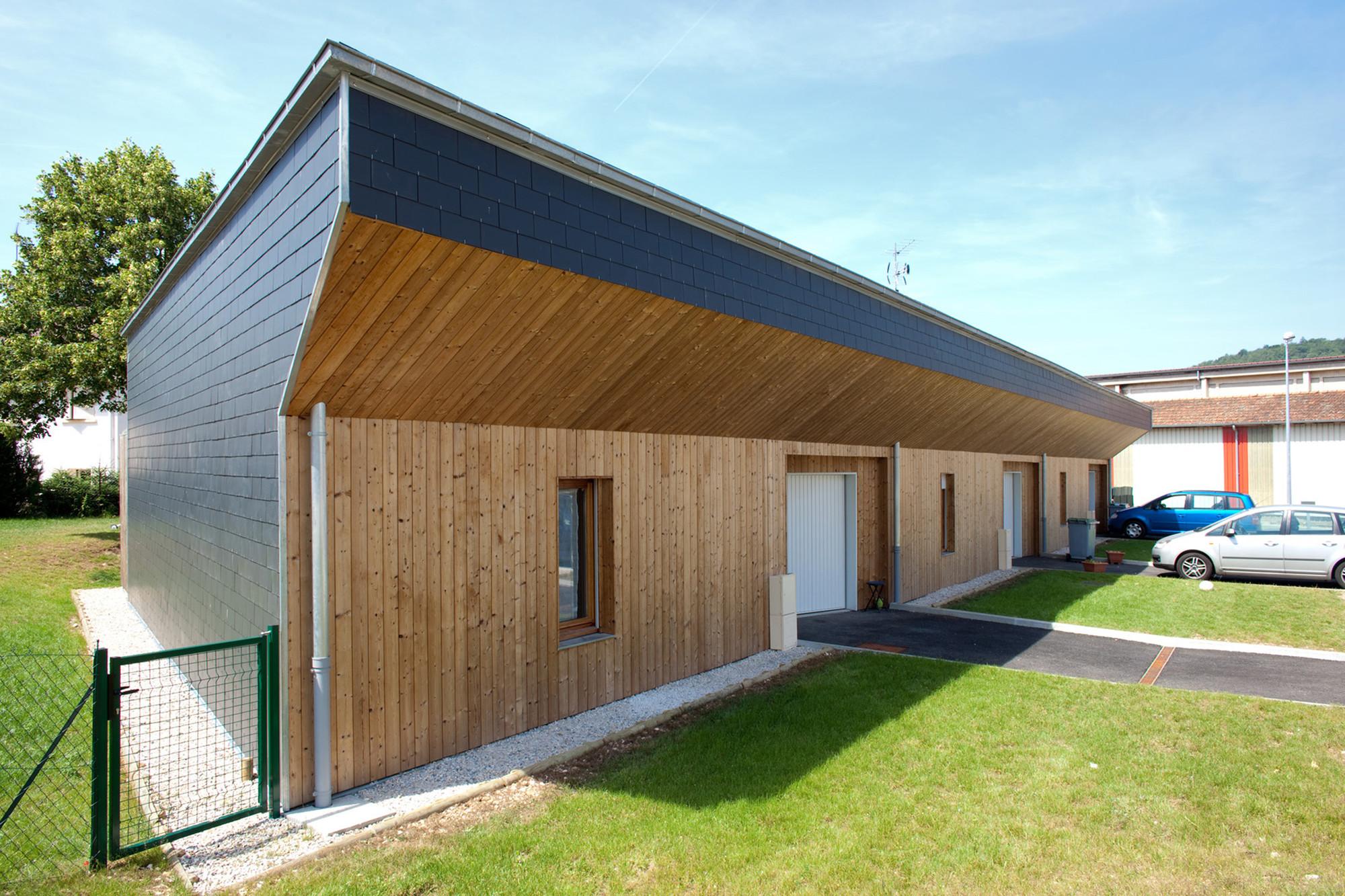 3 Social Houses / Zoomfactor Architectes  + JB Poulain, Courtesy of Zoomfactor Architectes