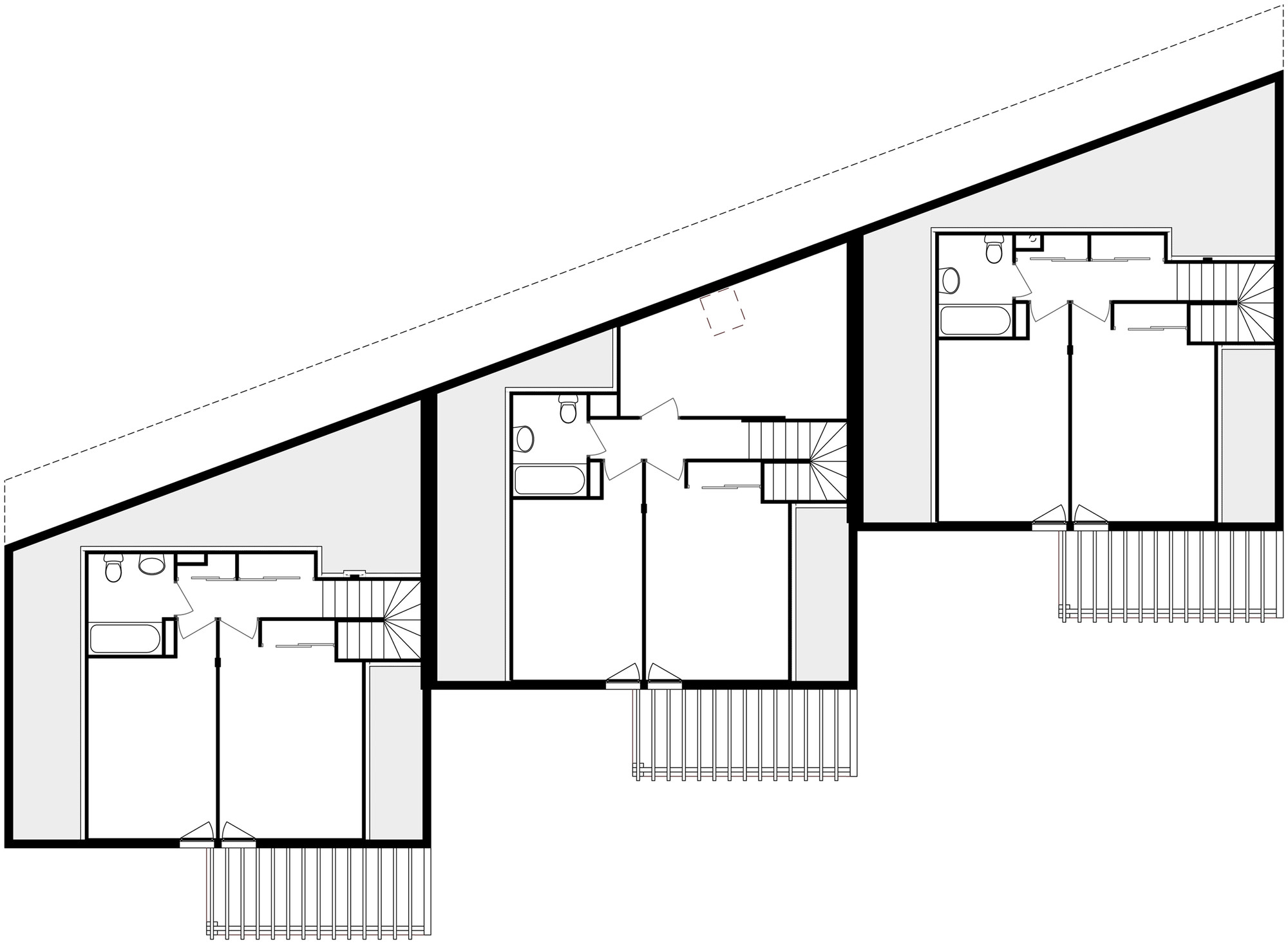Gallery Of 3 Social Houses Zoomfactor Architectes Jb