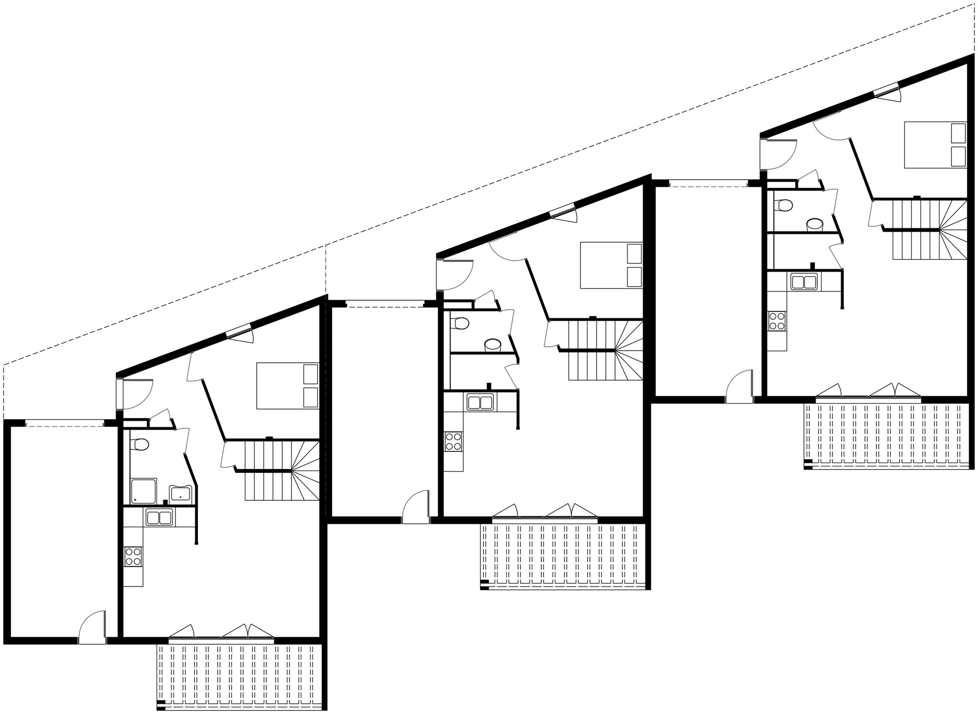Gallery Of 3 Social Houses Zoomfactor