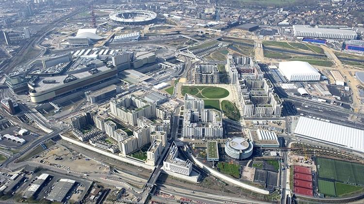 Fletcher Priest recebe prêmio pelo masterplan habitacional na área olímpica de Londres, © Get Living London / ODA