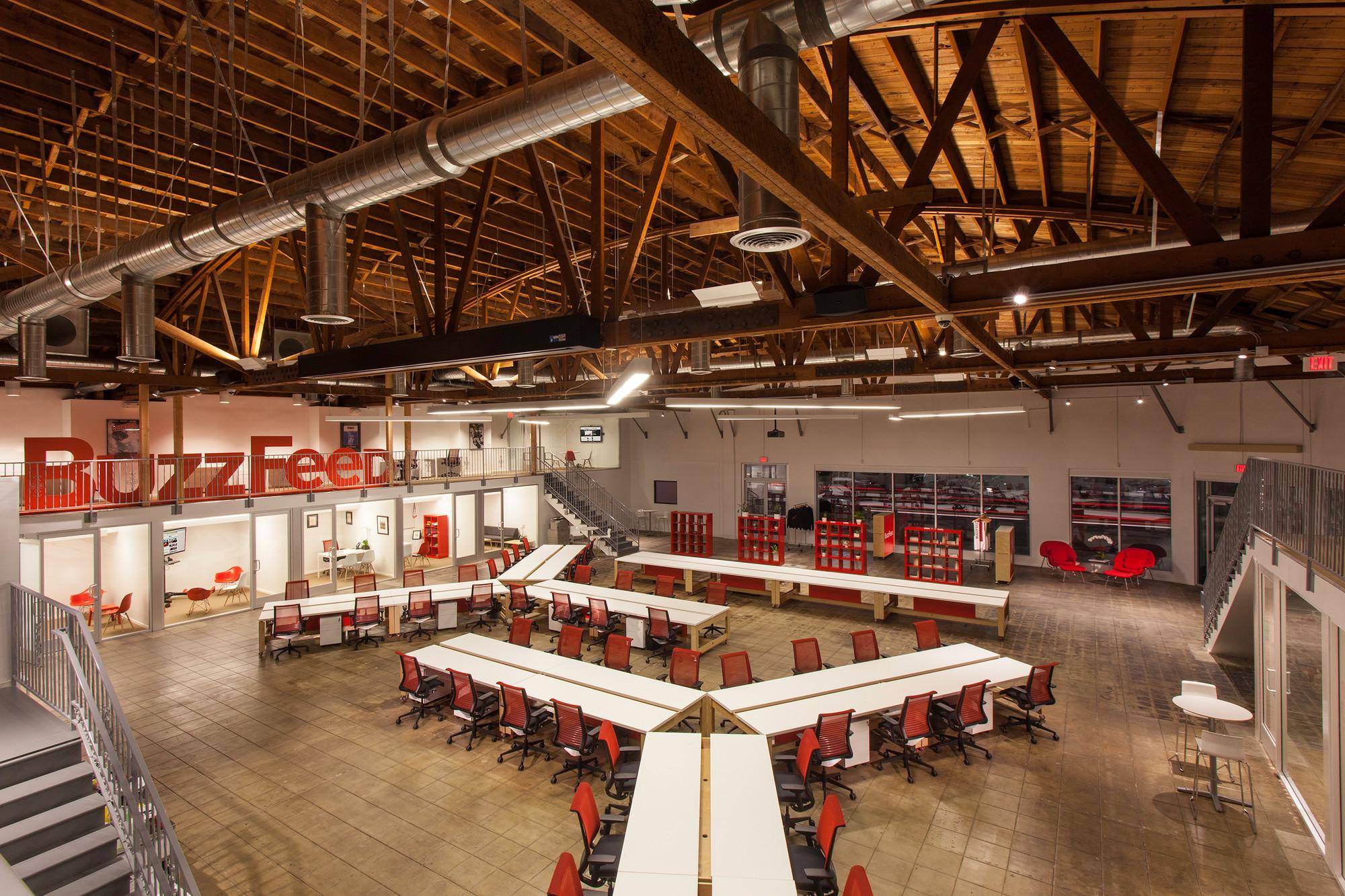 Buzzfeed LA Office / JIDK, © Peter Kubilus