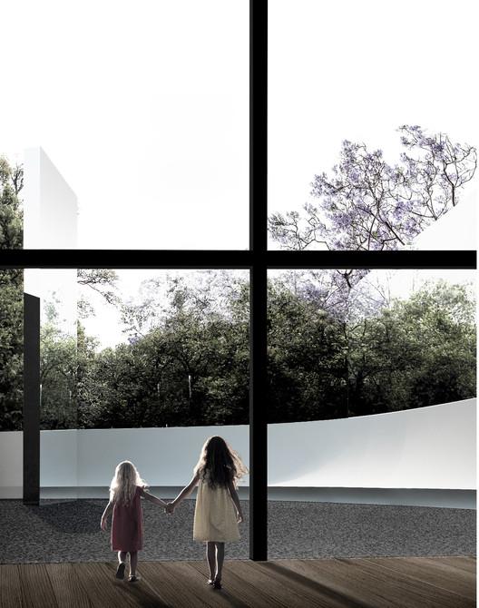 Proyecto de MXSI+PAAC para el Pabellón Eco 2014, Cortesía MXSI_PAAC