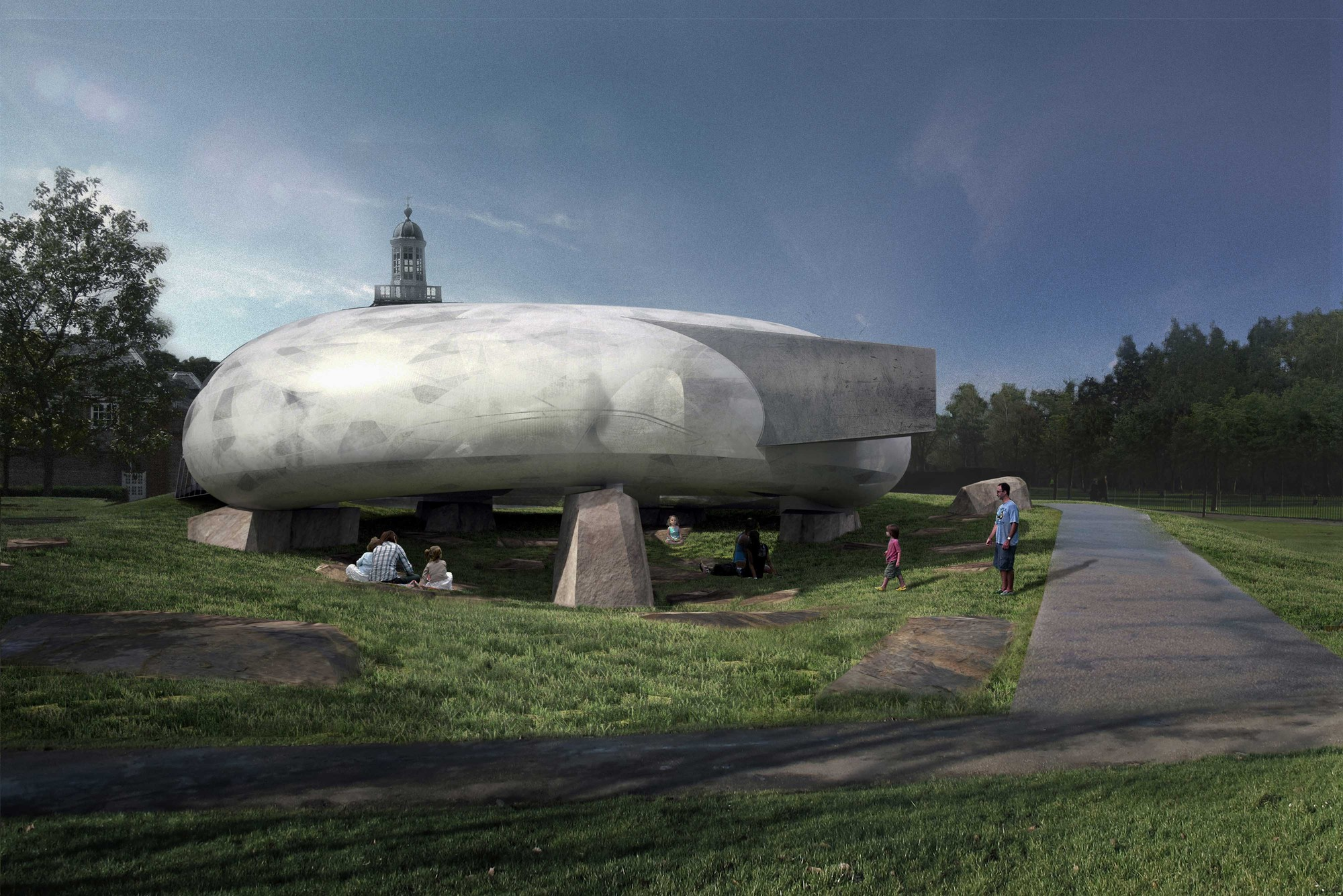 Smiljan Radic to Design 2014 Serpentine Pavilion, © 2014 Smiljan Radic Studio