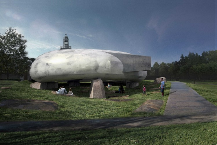 Smiljan Radic diseñará el Pabellón de la Serpentine Gallery 2014, © 2014 Smiljan Radic Studio
