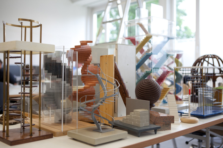 "Anunciados os últimos detalhes dos ""Fundamentals"" de Koolhaas para a Bienal de Veneza 2014, Elements of Architecture Stair - Models at the Friedrich Mielke Institute of Scalology. © Rem Koolhaas. Image Courtesy of la Biennale di Venezia"