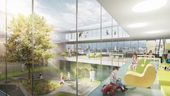 gmp vence competição para projetar um Hospital Infantil na Suíça