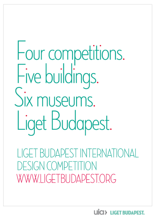 Liget Budapest International Design Competition