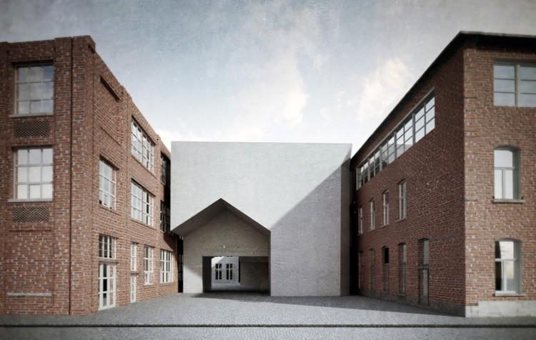 Aires Mateus vence concurso para a Universidade de Arquitetura de Tournai, © Aires Mateus