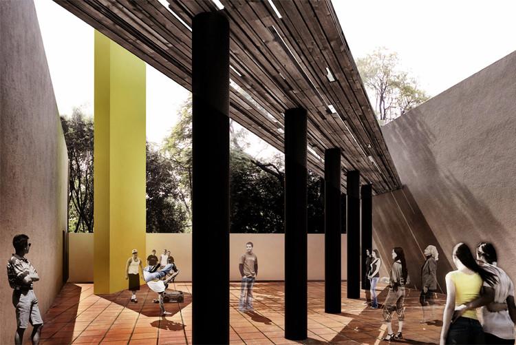 Proyecto de S-AR stacion-ARquitectura para el Pabellón Eco 2014 , Cortesía de stacion-ARquitectura