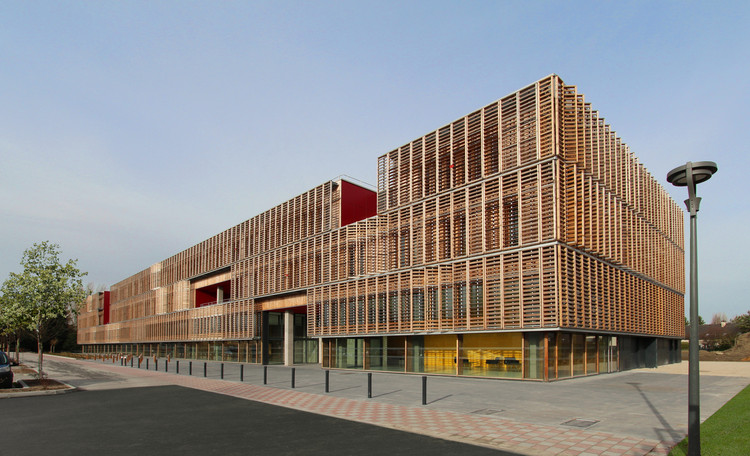 Compiègne Univeristy of Technology / Ameller, Dubois & Associés, © Frederic Allinne