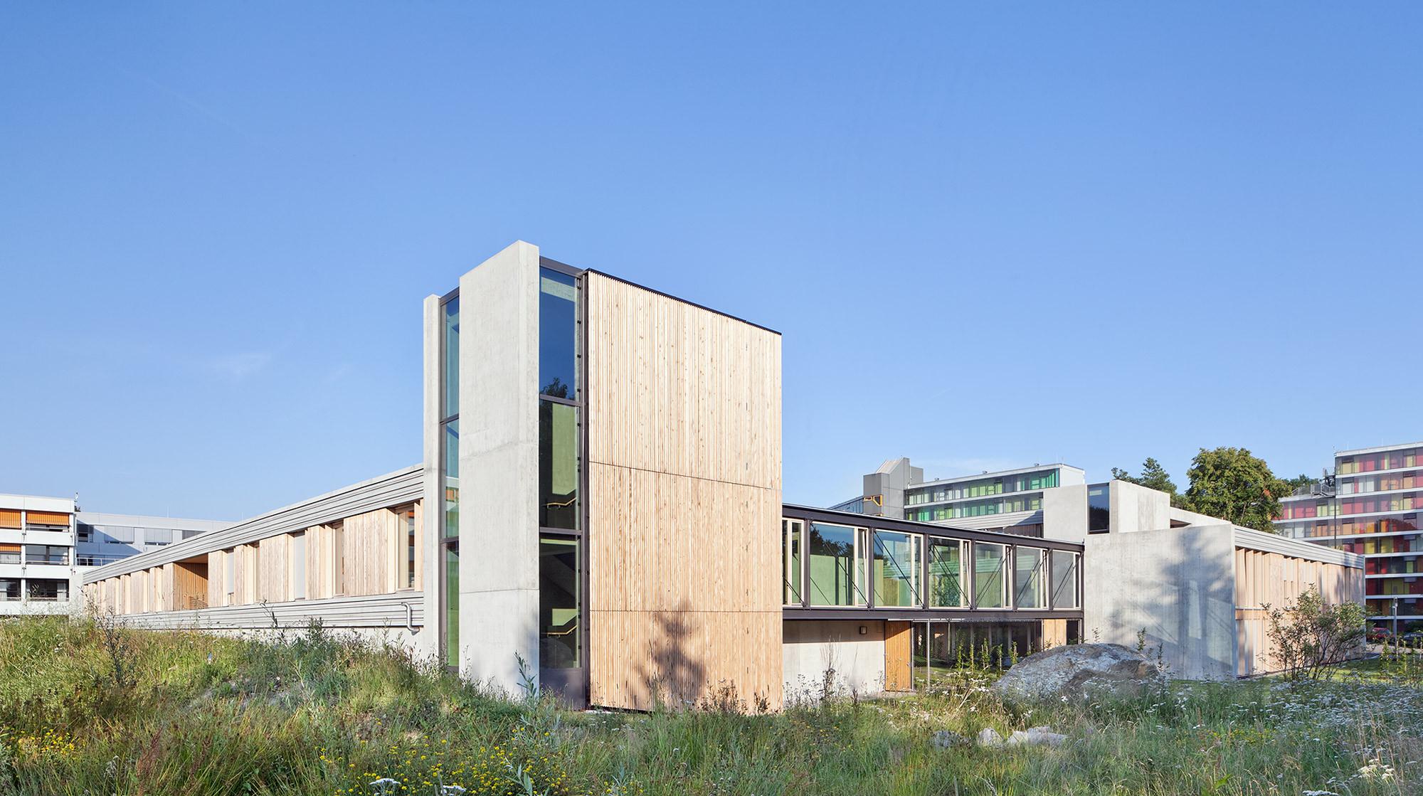 Architekt Friedrichshafen psychiatric centre friedrichshafen huber staudt architekten