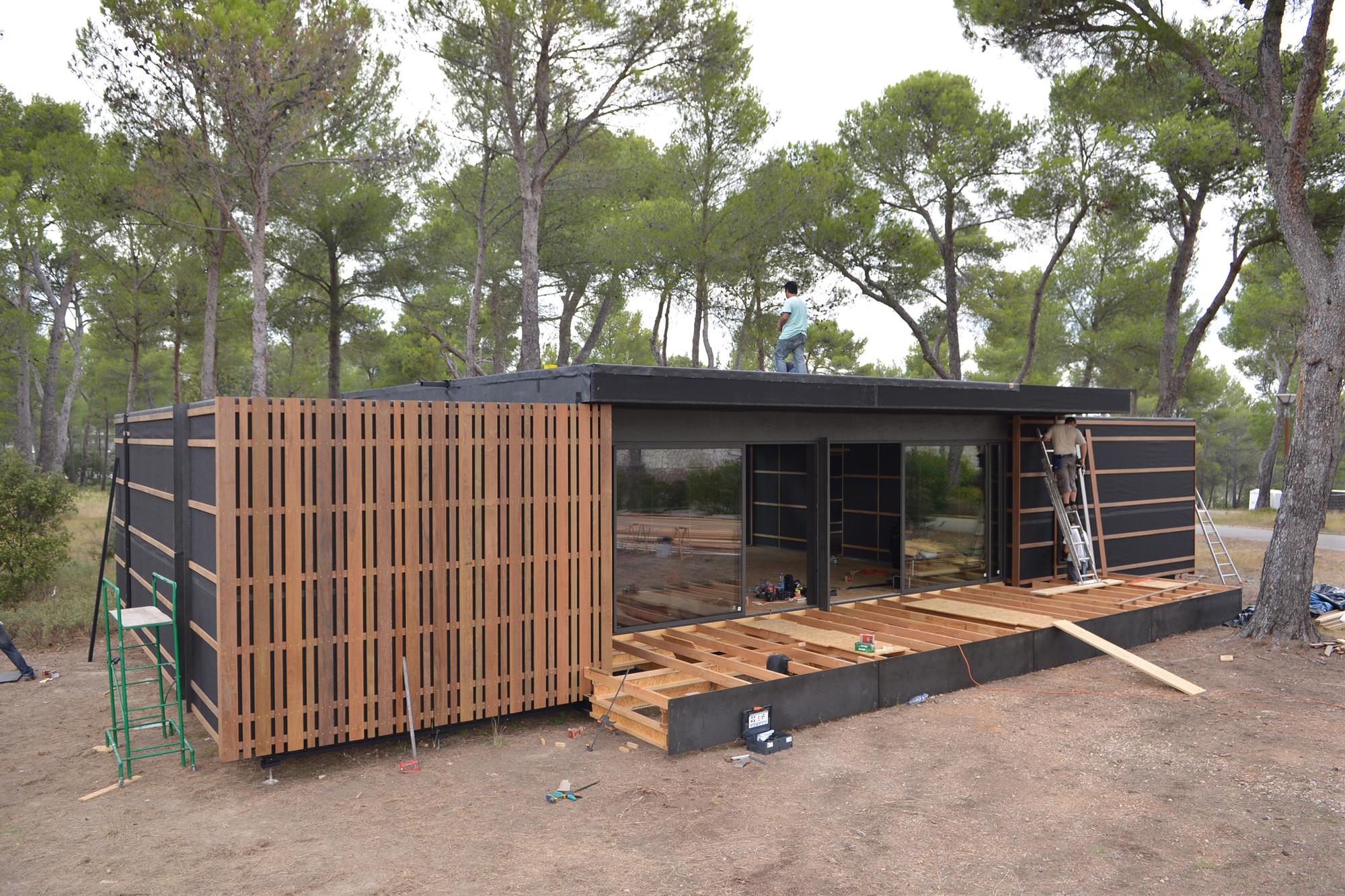 galeria de casa pop up multipod studio 12. Black Bedroom Furniture Sets. Home Design Ideas