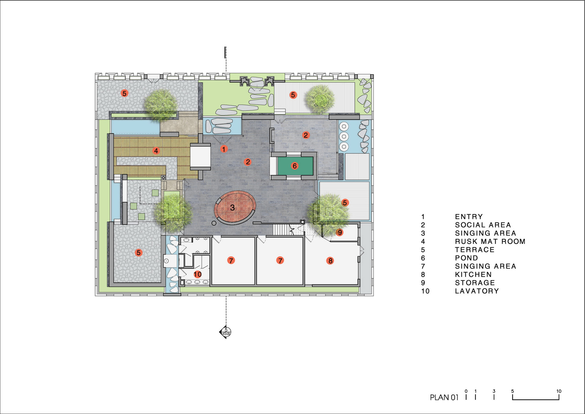 Gallery Of Viet Pavilion Landmak Architecture 27 Wr450f Wiring Diagram Pavilionfirst Floor Plan