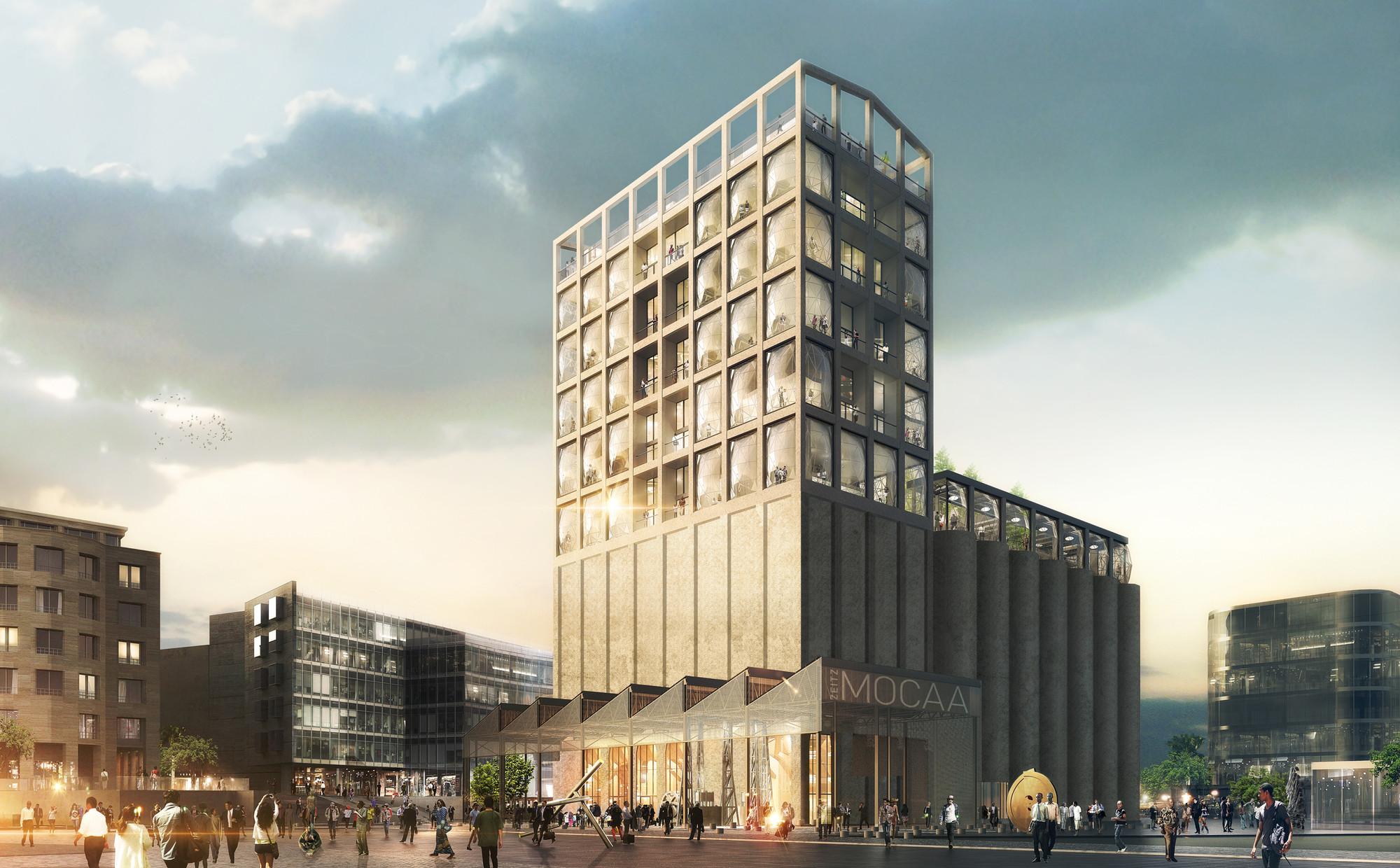 Heatherwick to Transform Cape Town's Grain Silo into Contemporary Art Museum
