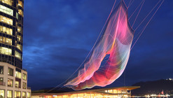 Janet Echelman's Largest Aerial Sculpture To Premiere in Vancouver