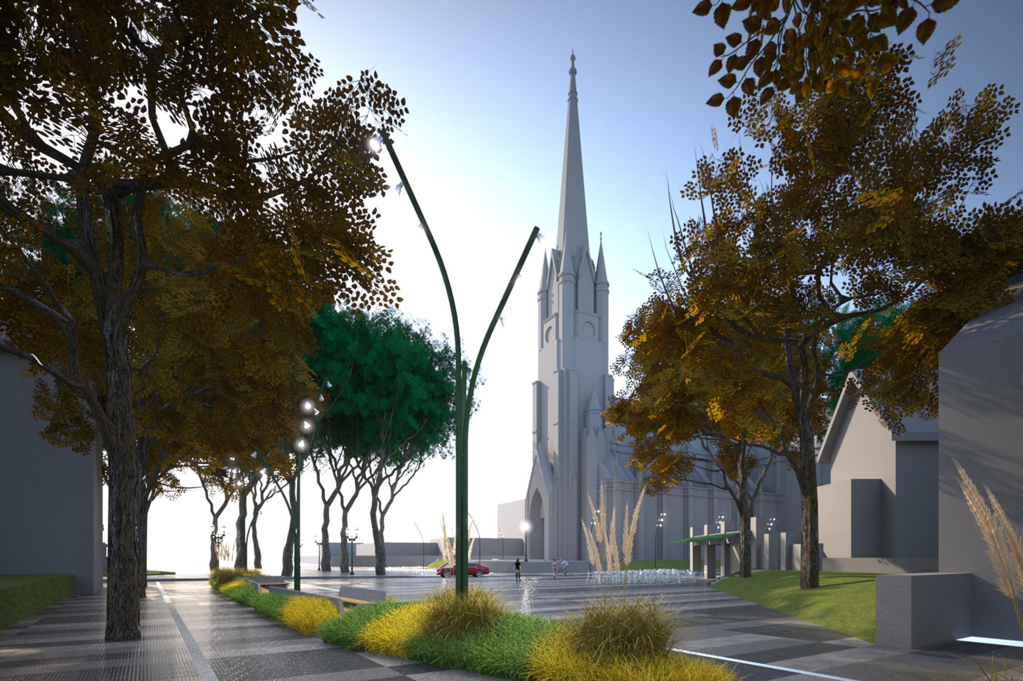 Primer Lugar Concurso Nacional de Ideas para la Renovación urbana del área centro de San Isidro / Argentina