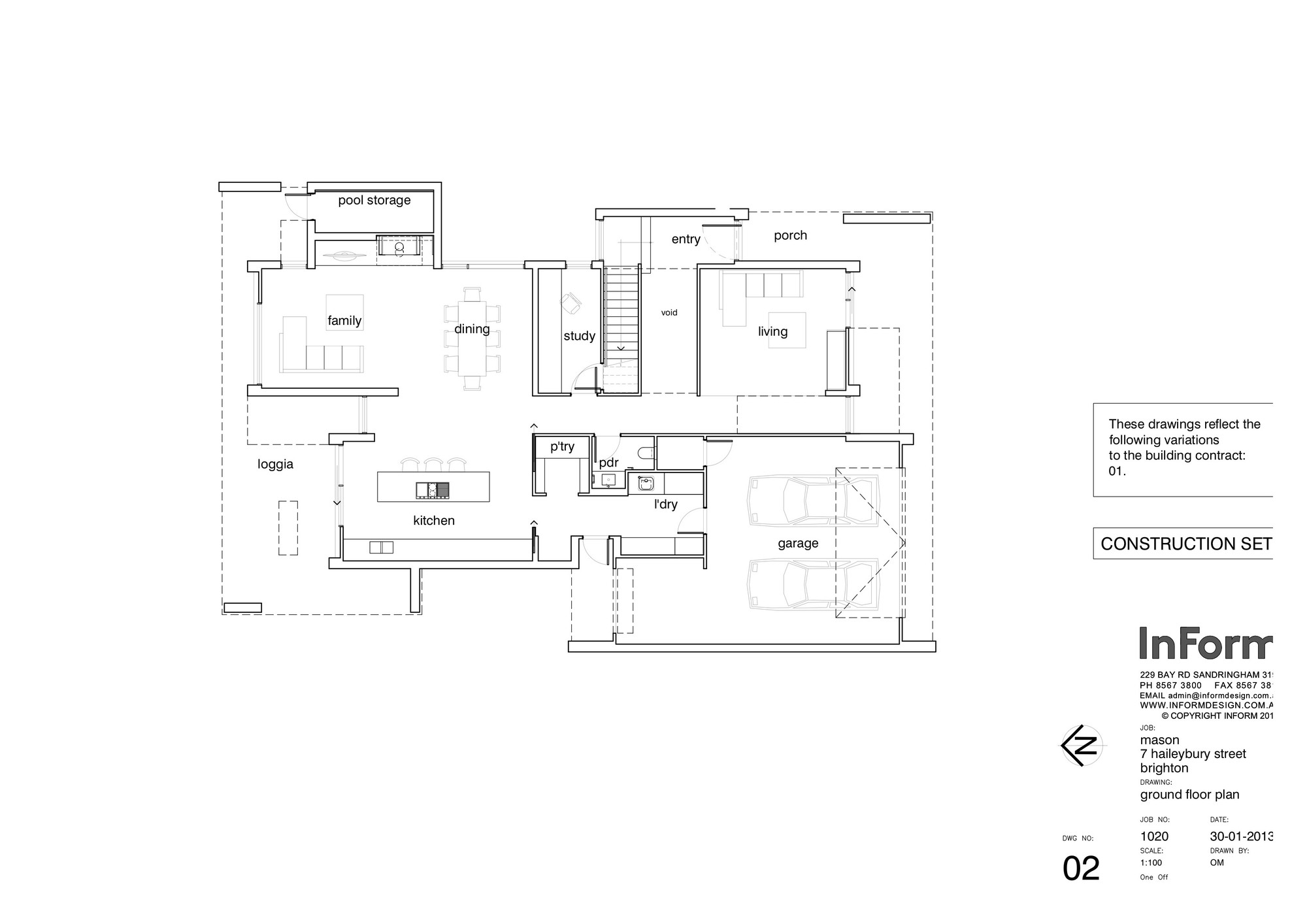 Epic Ground Floor Plan