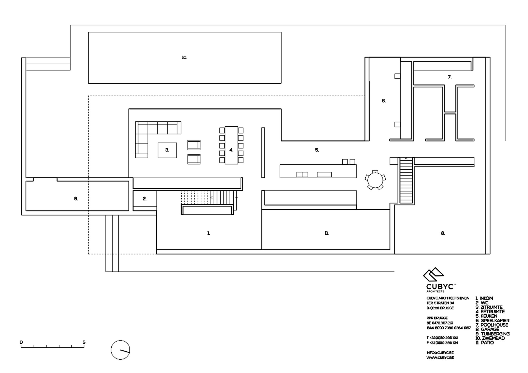 Gallery of hs residence cubyc architects 26 for X2 residency floor plan
