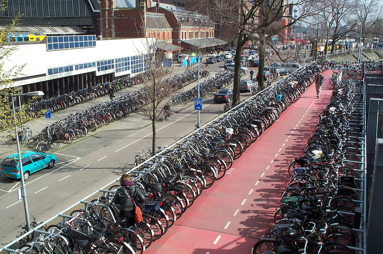 O plano de Amsterdã para aumentar (ainda mais) sua infraestrutura para o ciclismo urbano, © redjar, via Flickr