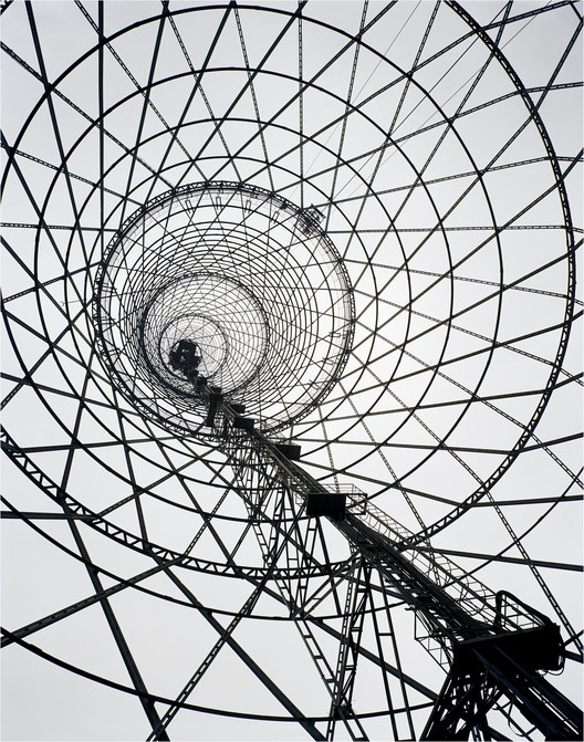 Architects Rally to Save Moscow's Historic Shukhov Tower, Richard Pare, Shabolovka Radio Tower, Moscow, Russia. Vladimir Shukhov, 1922. Image © Richard Pare 2007