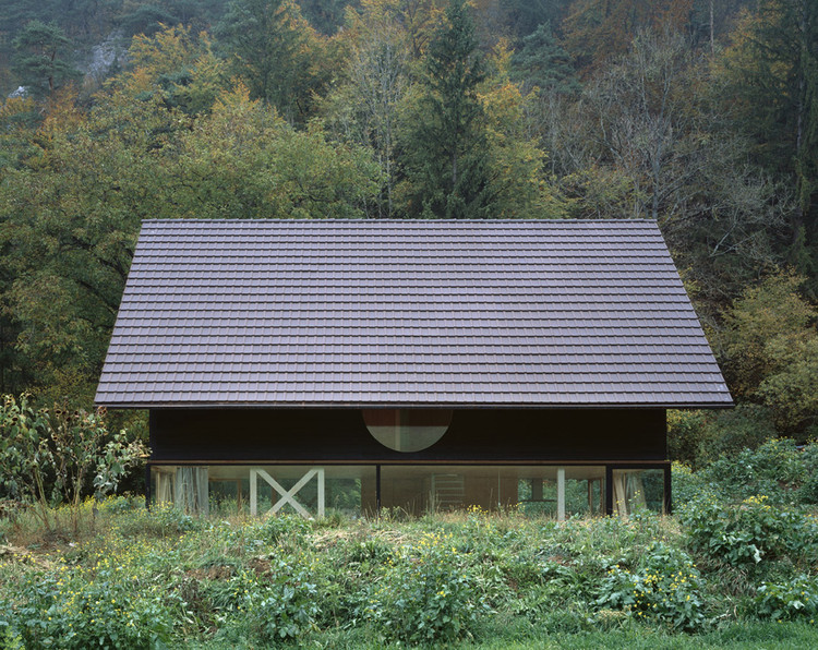 House In Balsthal Pascal Flammer Archdaily