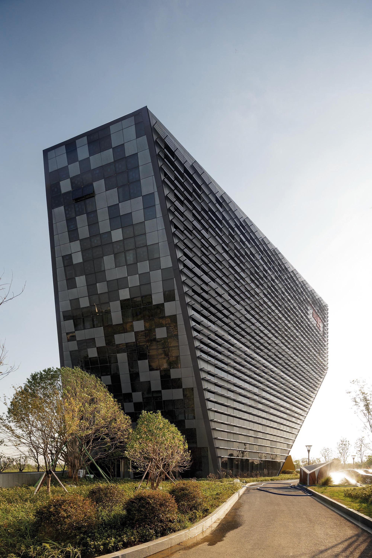 Gallery Of West Taihu International Business Plaza Lab