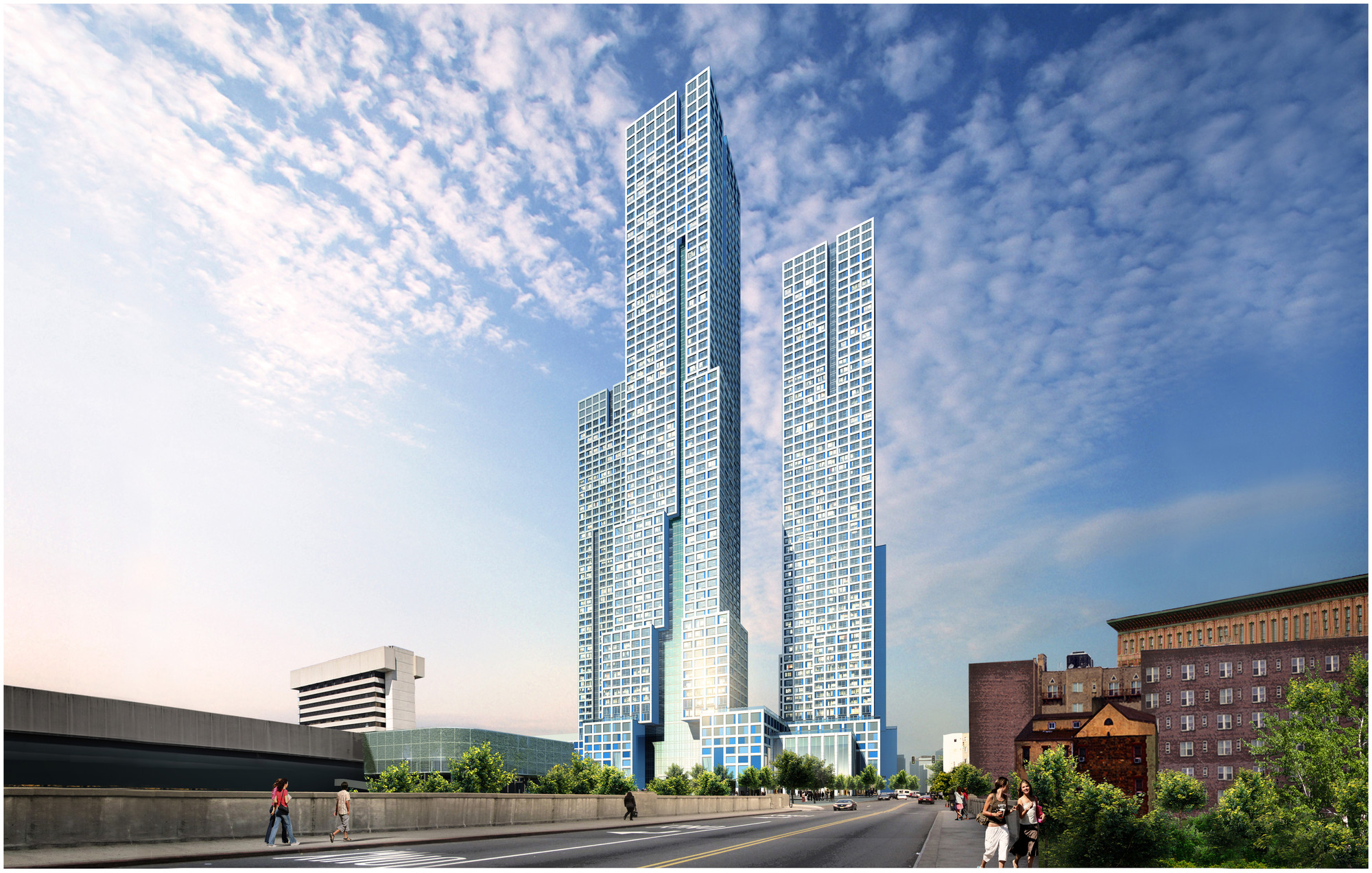 HWKN + Handel Architects Break Ground on New Jersey's Tallest Building, © Hollwich Kushner (HWKN) + Handel Architects