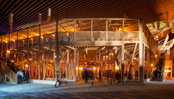 """David Rockwell Designs Pop-Up """"Talk"""" Theater for TED2014"""