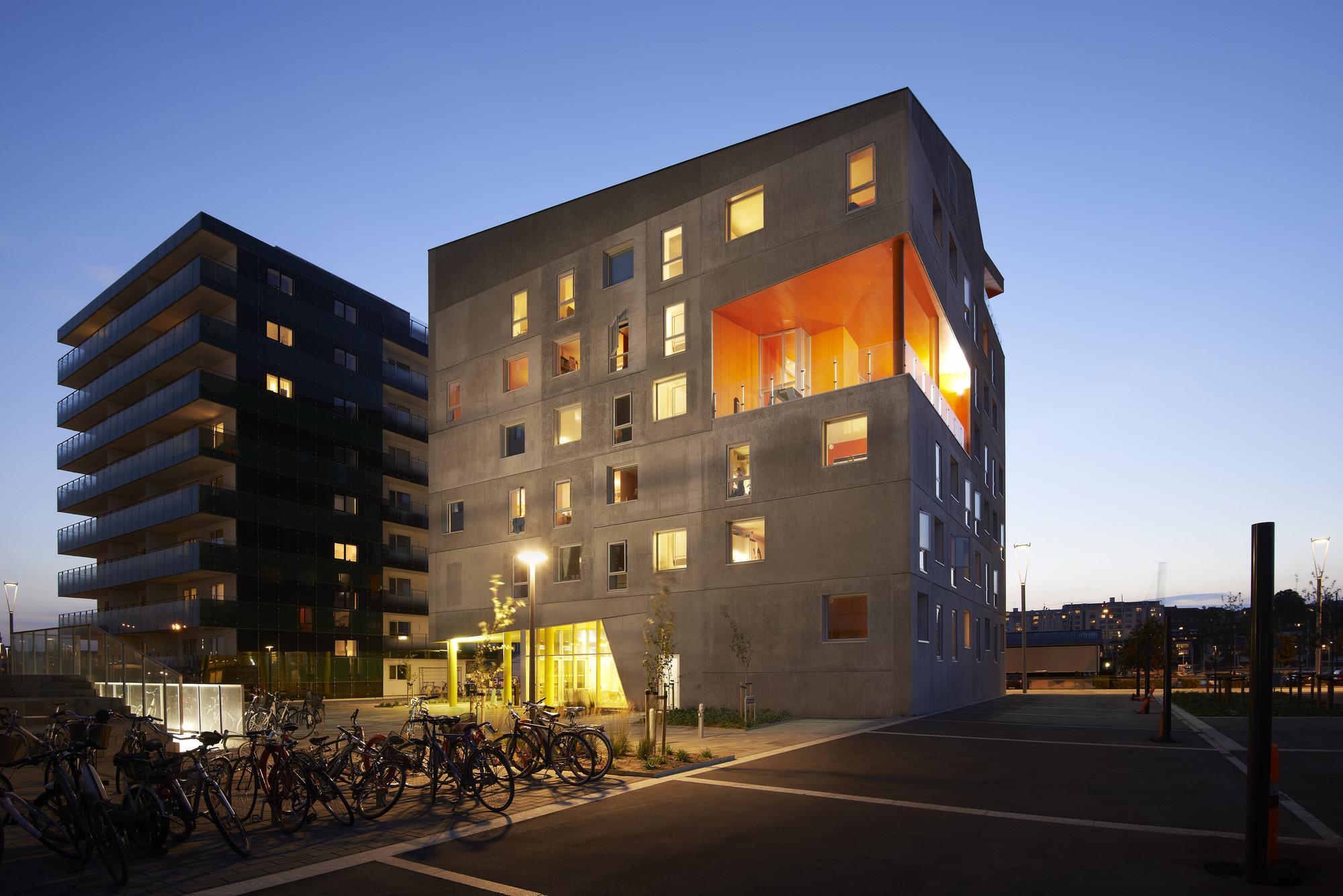 Energy neutral youth housing at the Port of Aarhus / CUBO Arkitekter + TERROIR, Courtesy of CUBO Arkitekter + TERROIR