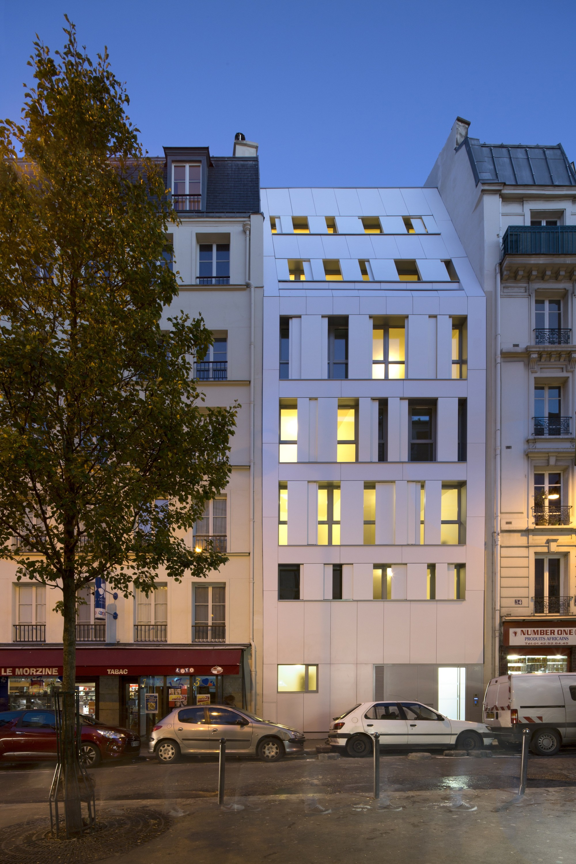 Maast gallery of rue des poissonniers housing / maast - 7