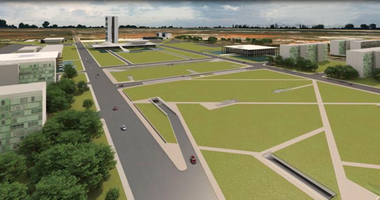 Aprovada a construção de um estacionamento subterrâneo na Esplanada dos Ministérios, Cortesia de correiobraziliense