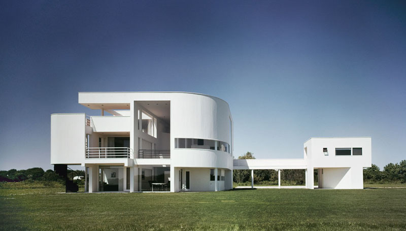 AD Classics: Saltzman House / Richard Meier & Partners Architects, © Ezra Stoller/Esto
