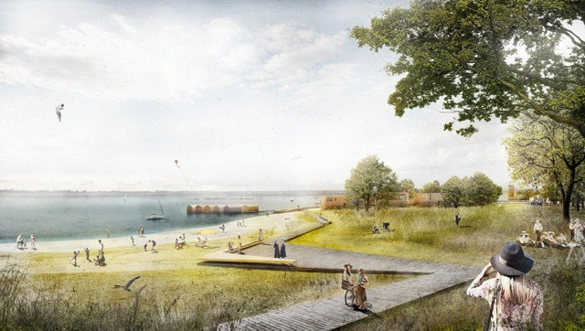 Consolidated Urbanism by Labor4plus Wins Lake Zwenkau Planning Competition, Courtesy of Labor4plus