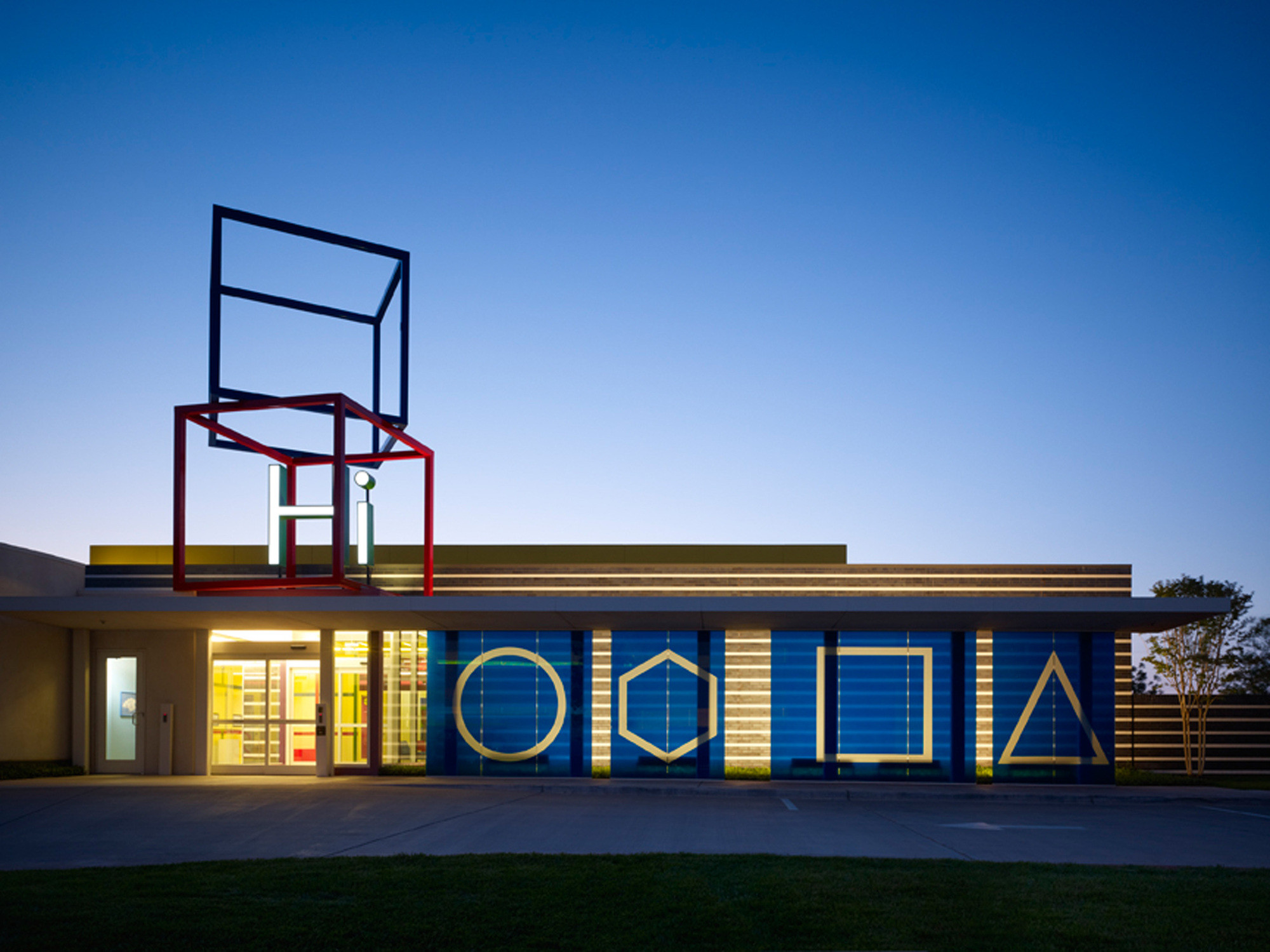 EAA to Design Oklahoma Contemporary Arts Center, Chesapeake Child Development Center / Elliott + Associates Architects (Click image for more). Image © Hedrich Blessing; Scott McDonald