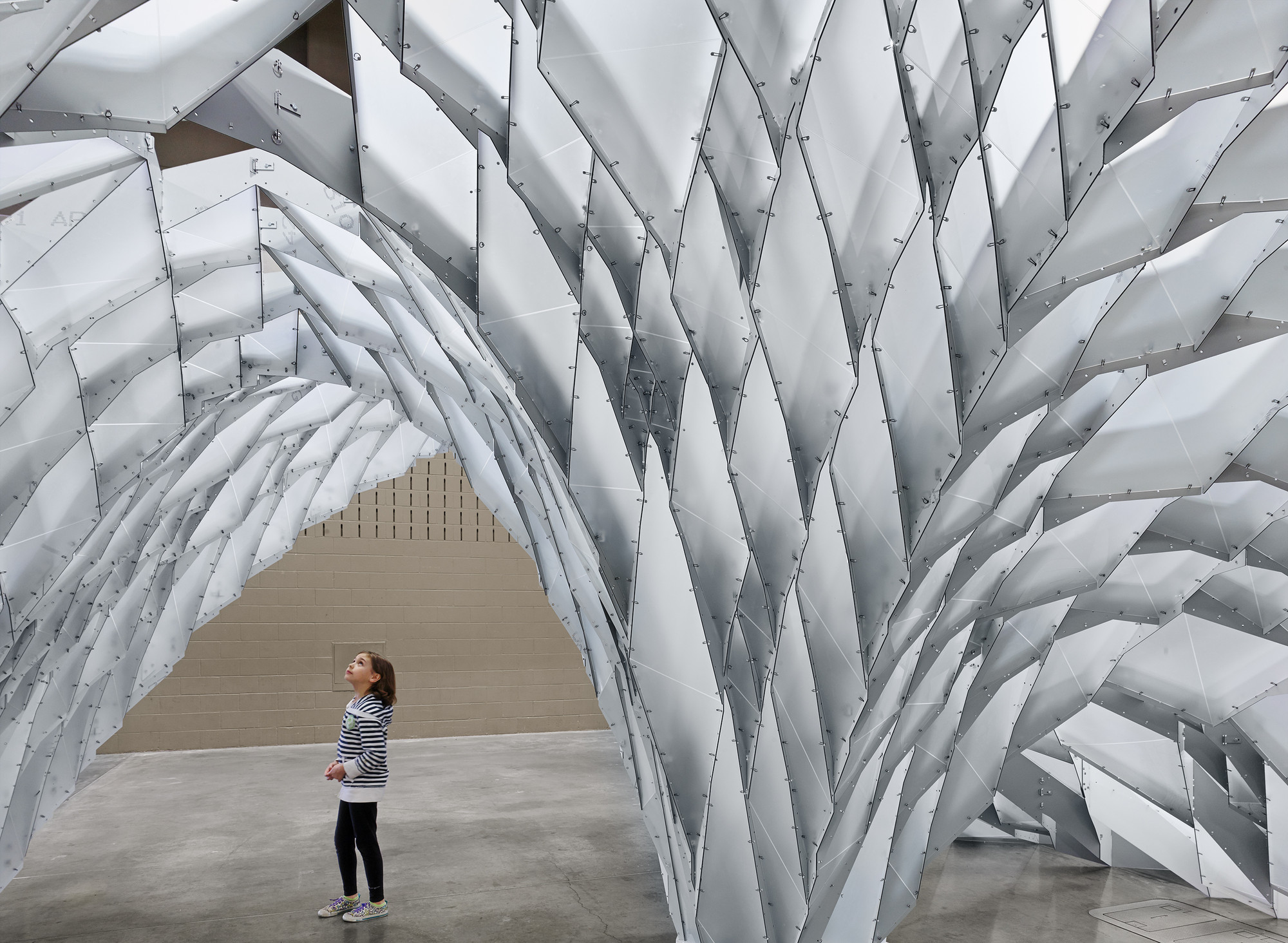 SXSW Features Parametric Vault Designed by OTA+ and UT Students, © Casey Dunn