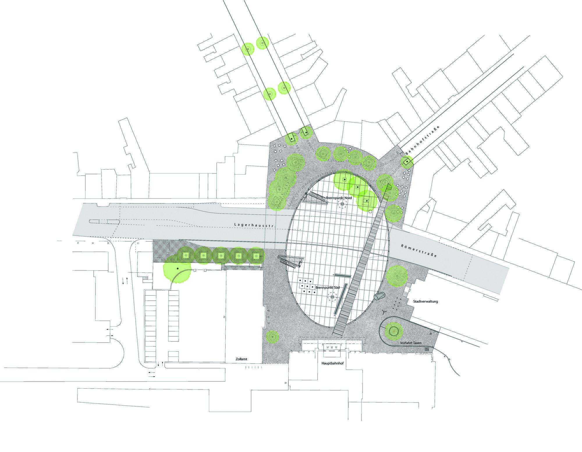 Bahnhofplatz Aachen HHF Architekten Hentrup Heyes Fuhrmann
