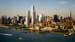 Construction Begins on the Vast Platform for New York's Hudson Yards