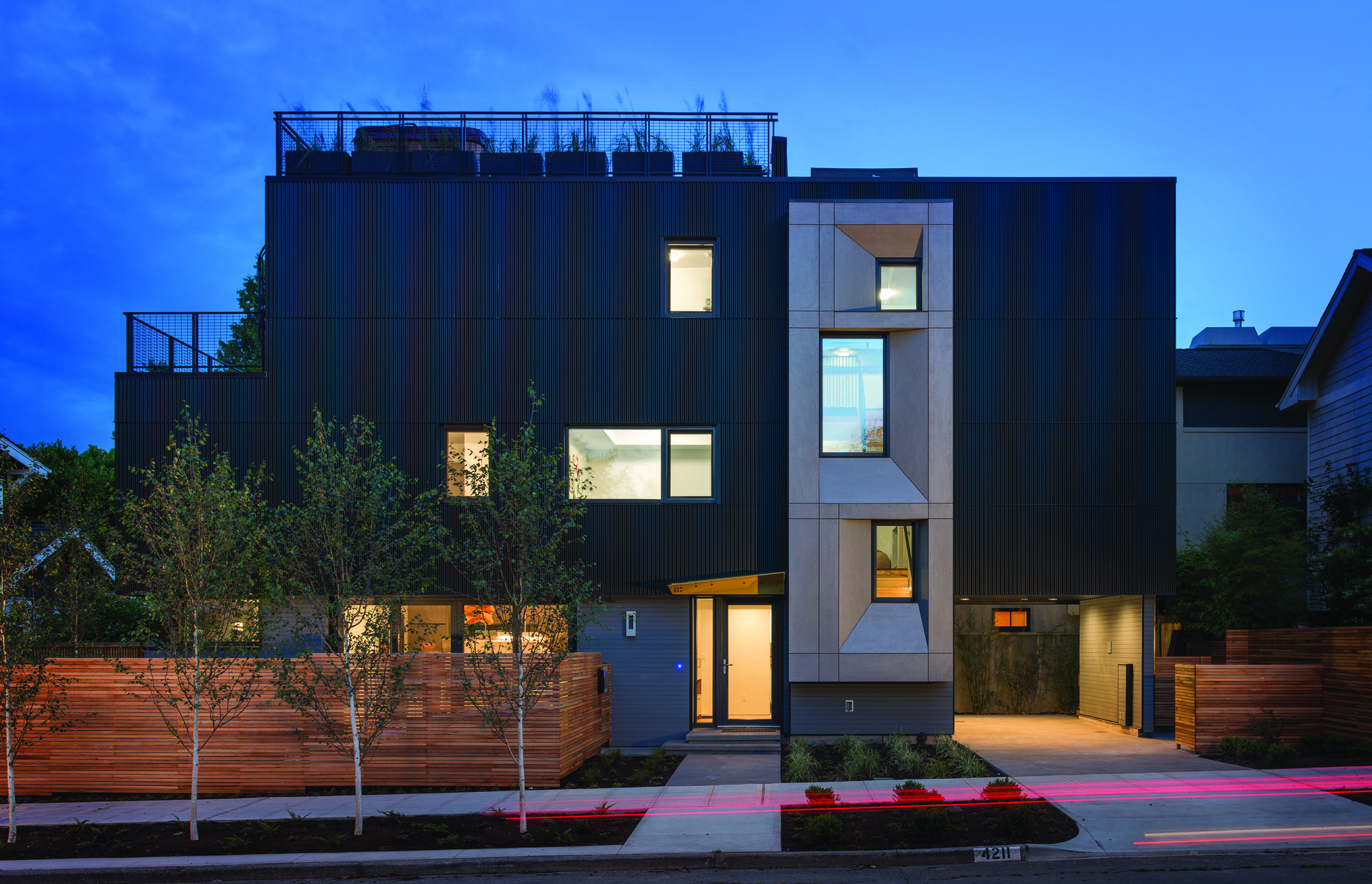 Park Passive House / NK Architects, © Aaron Leitz