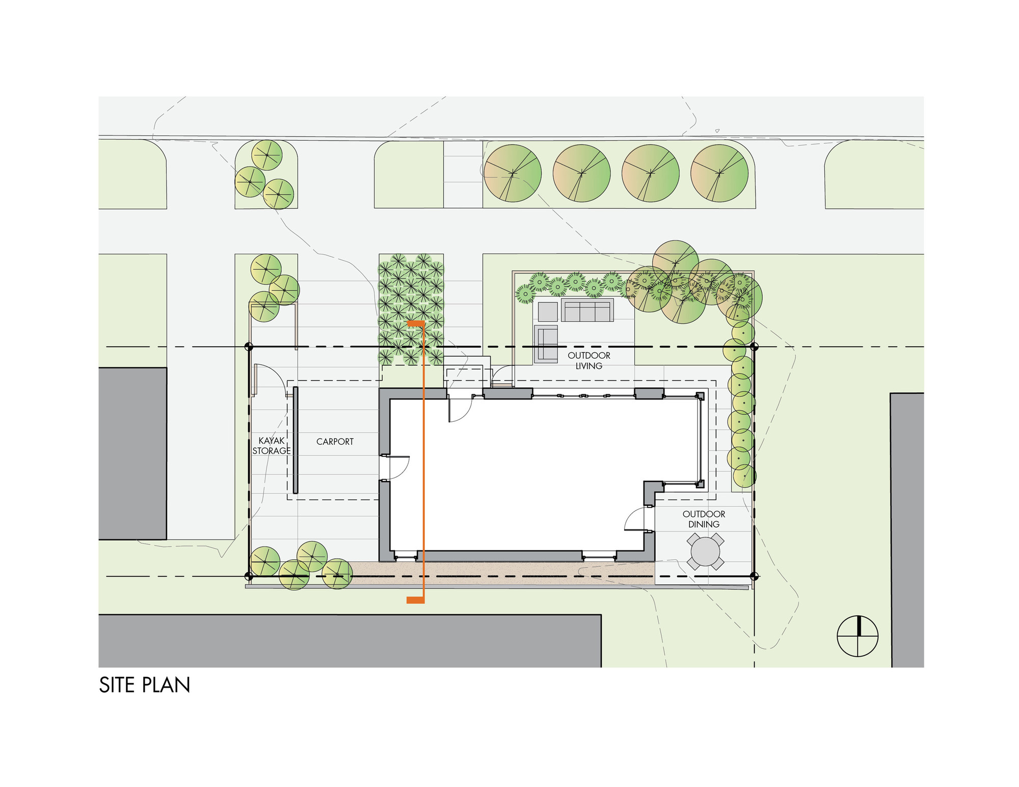 Patio Floor Plans Gallery Of Park Passive House Nk Architects 12