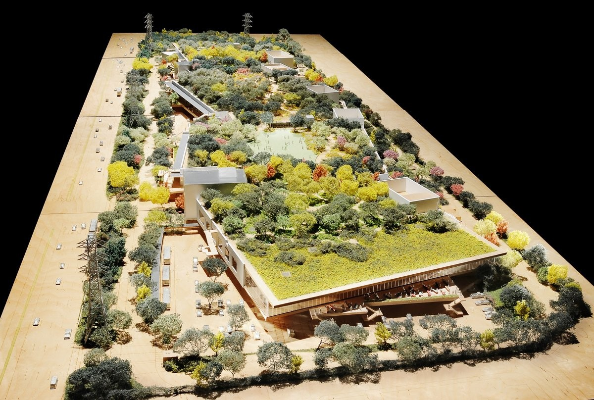 New Images of the Frank Gehry Facebook Campus Released, Design of Facebook Campus by Frank Gehry. Image Courtesy of Facebook Corporate Communications