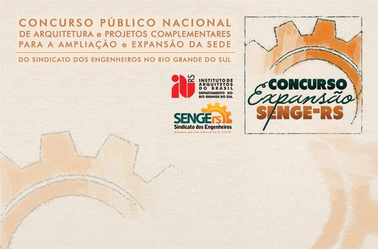 Chamada para concurso: Expansão da Sede do Sindicato de Engenheiros no Rio Grande do Sul – SENGE-RS