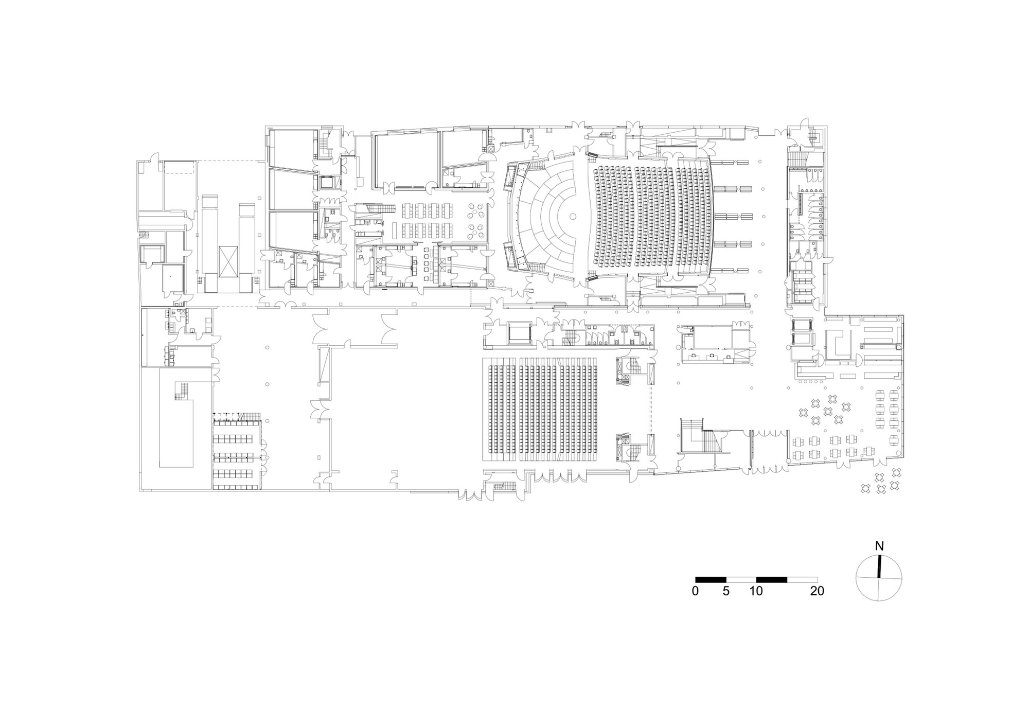 Stavanger Concert Hall Ratio Arkitekter As Archdaily Black Box Stage Diagram Theater Would Need To Be Larger Floor Plan 1