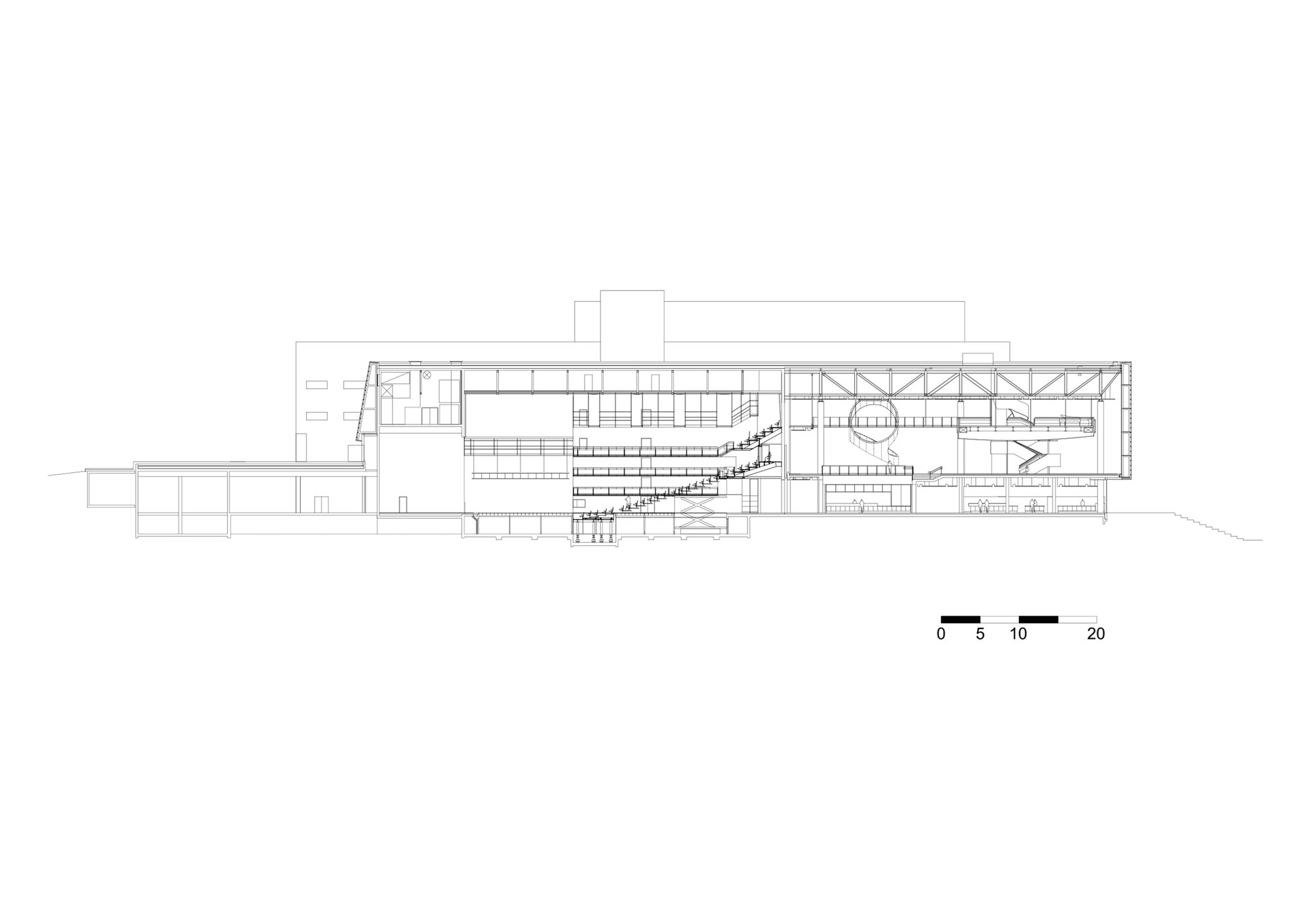 Stavanger Concert Hall Ratio Arkitekter As Archdaily Black Box Stage Diagram Theater Would Need To Be Larger Section Multi Purpose