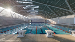 AISJ Aquatic Center / Flansburgh Architects